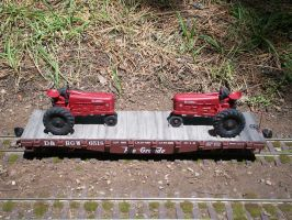 Tractor Flat by SouthwestChief