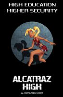 Alcatraz High Back Cover by BobbyRubio