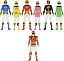 Requested: Ancient Sentai Kareiranger by Taiko554