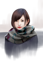 Face Study 01 by hel999