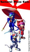 The Samurai Pizza Cats by tsunamidusher