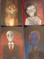 Creepypasta pack :D by Bawaria