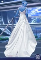 Liara T'soni in wedding Dress by maitreikrit