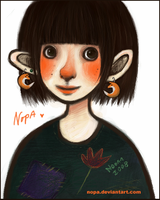 Nopa the princess of trolls-ID by Nopa