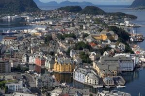 Alesund Norway by danporter