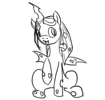 Animated Baby!Chrysalis by BellalyseWinchester