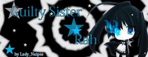 Sign Black Rock Shooter by LadyNaipes