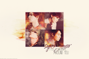 Wallpaper Super Junior by Rosba18