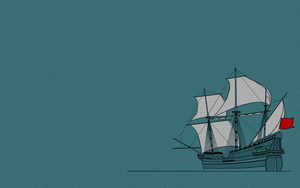 Spanish Galleon 1 wallpaper 1440x900 by Pasteljam