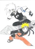 DP and N Shippuden by Xaolin26