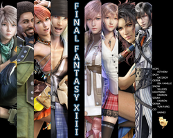 Final Fantasy XIII - Wallpaper by BTTman