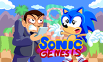 BrainScratchComms: Sonic Genesis Thumbnail by SmashToons