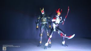 S.H. Figuarts Kamen Rider Agito SHinning Form by Digger318