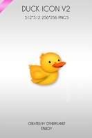 Duck icon V2 by OtherPlanet