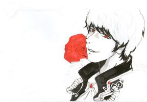 The Young Devil's Smile  : WIP Ver by CheekyFlower