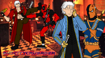 The Sparda twins and the Wilsons by 2ndCityCrusader