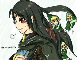Soren and Toon Links by SparxPunx
