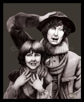 Four and Sarah Jane Retouched by Marker-Mistress