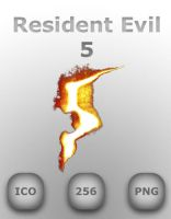 Resident Evil 5 Icon by GreasyBacon