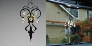 Crystal Ab Steampunk Suncatcher- SOLD by YouniquelyChic