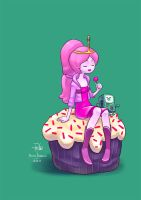 Princess Bubblegum by GummyGumBeat