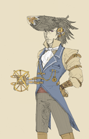 Steampunk Daryan by FMAfan96