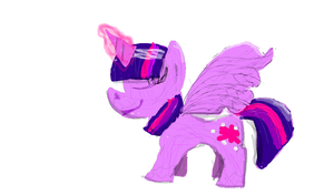 Better looking Twilight doodle by SpectraPinkie