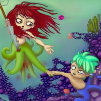 Save the Mermaids by slither-astray