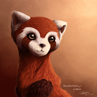 LoK: Pabu portrait by May-Romance