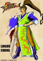 Street Fighter Art Card Series: Linghu Chong by Xtophe