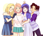 Naruto Cuties by BayneezOne