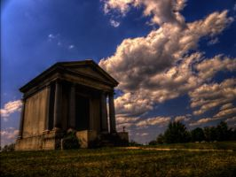 Hilltop Tomb - HDR Stock by matrix7-stock