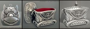 Silver Items by MikeMS
