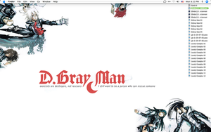 D.Gray Desktop by littlearashi