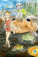 Fairies and mud toads by JillyFoo