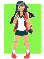 Trainer Ashley Ace Trainer by SoraWolf7