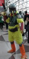 NYCC'12 Boba Chicken by zer0guard