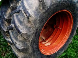 -HDR- Tractor Tire by tripptaylor