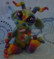 polymerclay wild thing twilite by crazylittlecritters