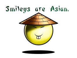 Smileys are Asian by Dooboogoo