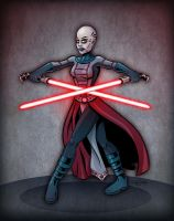 Asajj Ventress by SuperEdco
