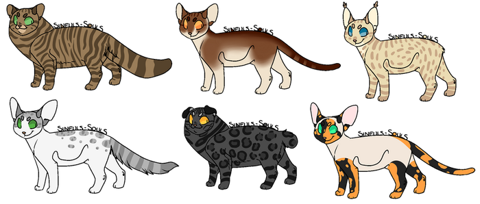 Cat adopts 10 [OPEN] by saeflin
