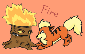 Plants are just like Pokemon! Fire by kovuification