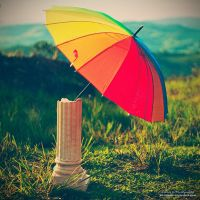 God's Umbrella Stand by oO-Rein-Oo