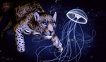 Jaguar and Jellyfish by xDoglate