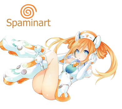 Hyperdimension Neptunia - Orange Heart OST Cover by Spaminart