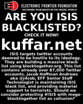 Isis Blacklist by androlphegax