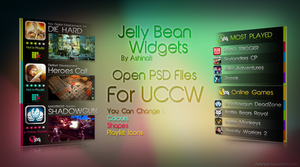 Jelly bean Widgets for UCCW by AShinati