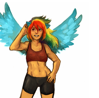 56. rainbow abs by ChainsawKoala