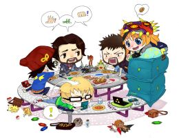 The Lunch Table by e-hima